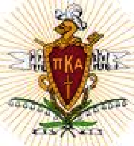 The Shield of the Pi Kappa Alpha Fraternity